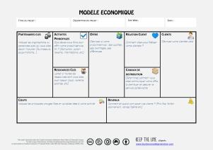 Schéma modèle économique avec infos