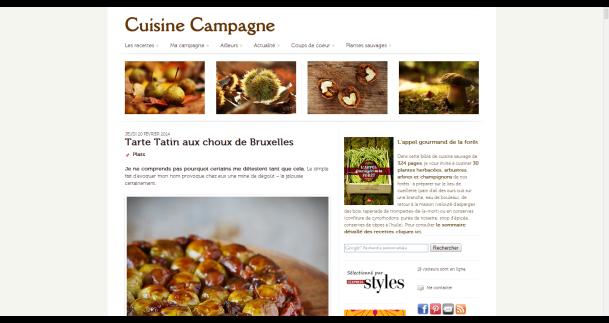 Credits - Cuisine Campagne